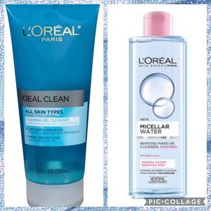 3/$20💗L'oreal Cleansing Duo